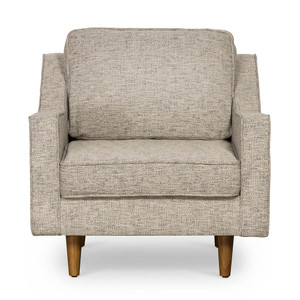 Tait Armchair - Basketweave Grey by Maison Living