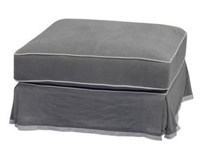 Portsea Ottoman - Grey by Maison Living
