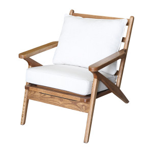 Hanko Armchair - Cream Cushions by Maison Living