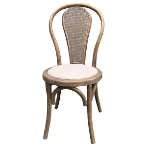 Cafe Rattan Back Dining Chair by Maison Living