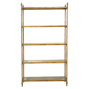 Lyon Mirrored Shelving Unit by Maison Living