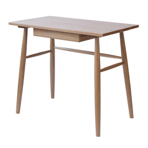 Malmo Oak Desk - Single Drawer by Maison Living