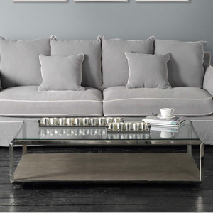 Maroc Glass Coffee Table by Maison Living