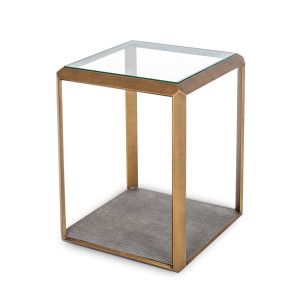 Maroc Glass Side Table by Maison Living
