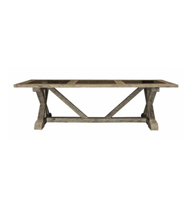 Bluestone X-Base Dining Table by Maison Living