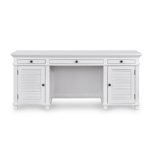 Hamptons Shutter Desk White by Maison Living