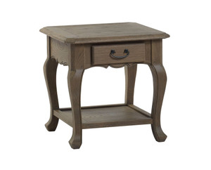 Bella House Paris End Table - French Oak