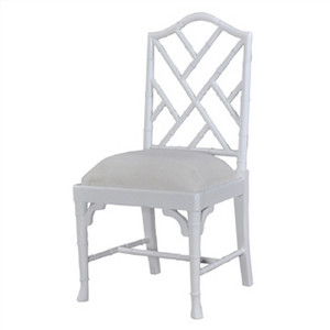 Martinique Bamboo Dining Chair - Size: 102H x 52W x 52D (cm)