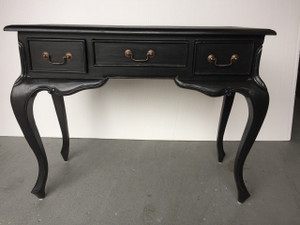 Ladies Desk Black - 72H x 92W x 39D (cm)