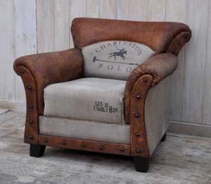 Charleston Polo Vintage Club Chair