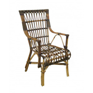 La Palma High Back Arm Chair - Coastal Tropic Style