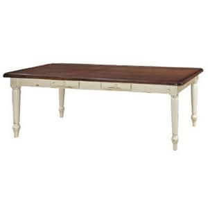 Farmhouse Dining Table 240cm - Size: 79H x 244W x 115D (cm)