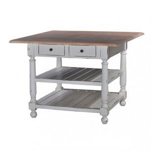 Stewart Gathering Table w/out Drop Leaf - Size: 90H x 122W x 122D (cm)