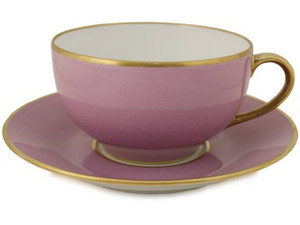 Limoges Legle Breakfast Cup & Saucer - Parma
