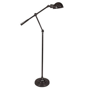 Calais Adjustable Floor Lamp - Florentine Bronze