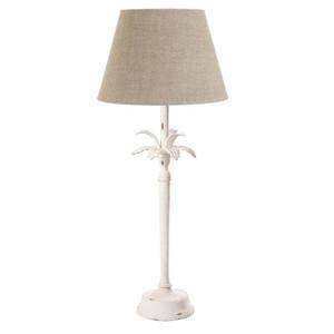 Casablanca Palm Tree Table Lamp - White