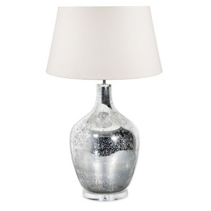 Large Fortuna Mercury Glass Table Lamp