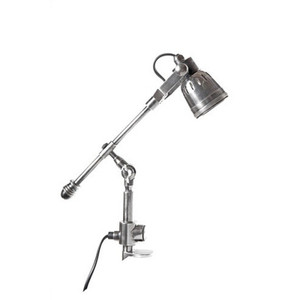 Seattle Clamp Lamp - Antique Silver