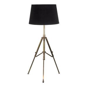 Trent Tripod Table Lamp - Antique Brass