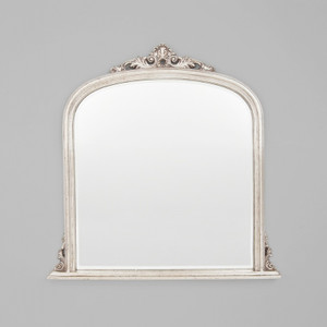 Domed Silver Mirror 119X117