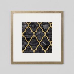 Framed Print: Mother Of Pearl Ebony