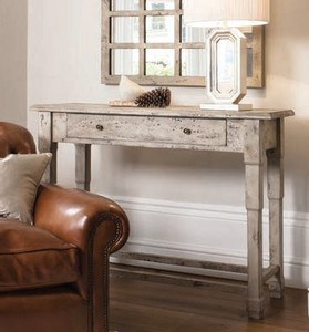 """Clayton Console Table Cream 51.5x11.5x35.5"""" Gallery Direct"""