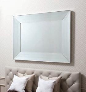 """Ferrara Mirror Silver 48x36"""""""" Gallery Direct"""""""""""