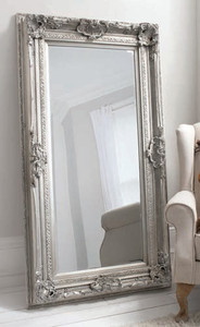 "Valois Mirror Silver 72x38"""" Gallery Direct"""""