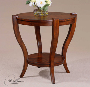 Bergman End Table by Uttermost
