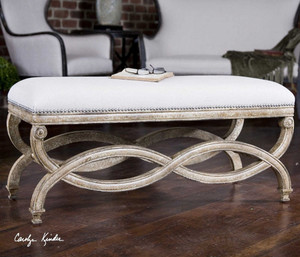 Karline Bench by Uttermost
