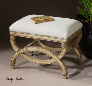 Karline Small Bench by Uttermost