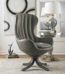 Linford Swivel Chair by Uttermost