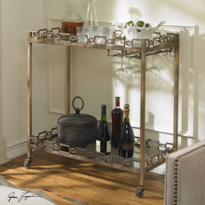 Nicoline Serving Cart by Uttermost