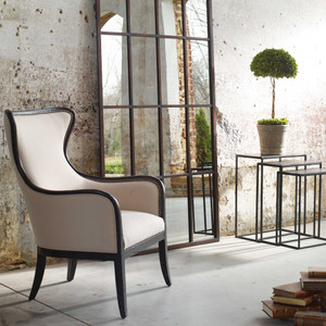 Sandy Wing Chair by Uttermost