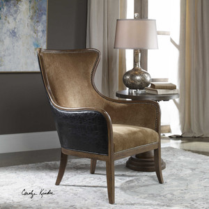 Snowden Wing Chair by Uttermost
