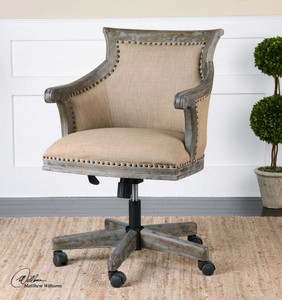 Kimalina Desk Chair by Uttermost