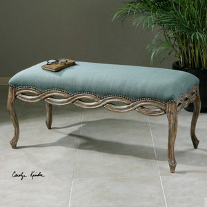 Kylia Bench by Uttermost