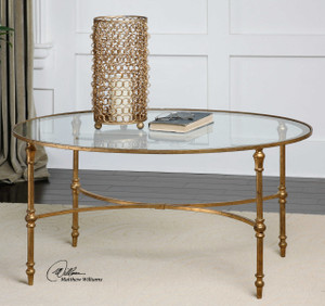 Vitya Coffee Table by Uttermost