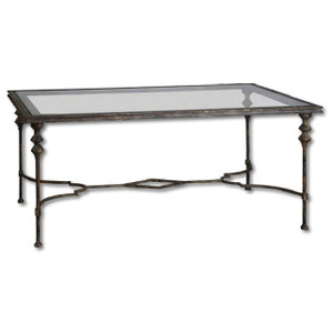 Quillon Coffee Table by Uttermost