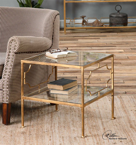 Genell Cube Table - by Uttermost