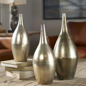 Rajata Vases S/3 by Uttermost