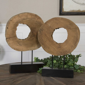 Ashlea Sculptures S/2 by Uttermost