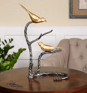 Birds on a Limb Sculpture by Uttermost