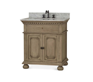 Roosevelt Single Vanity OAK - Size: 94H x 84W x 61D (cm)