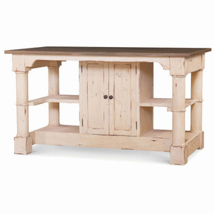 Savannah Kitchen Island - Size: 89H x 160W x 89D (cm)