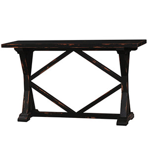 Hamptons X-Base Console Table