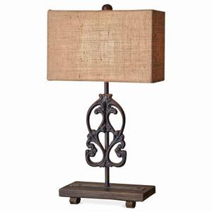 Rorschach Table Lamp - Size: 48H x 36W x 18D (cm)