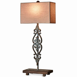 Ballister Table Lamp - Size: 76H x 36W x 18D (cm)