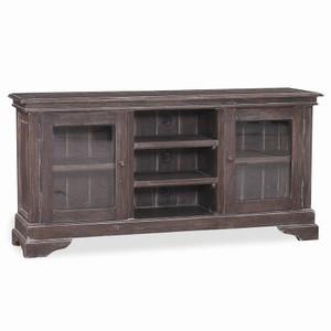 Burns Narrow Media Cabinet  - Size: 76H x 152W x 36D (cm)