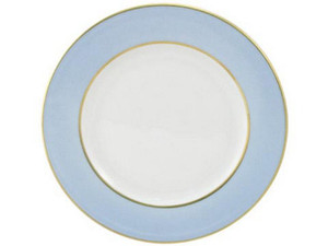 Limoges Legle Side/Cake Plate - Ice Blue